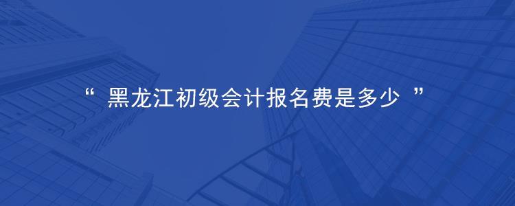 龙江会计网报名入口_黑龙江初级会计报名费是多少 - 学天问答
